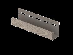 J-планка Ю-Пласт Timberblock Пихта (Сахалинская), 3м