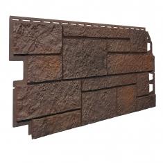 Фасадная панель VOX Solid Sandstone (Dark Brown), 1,12 м