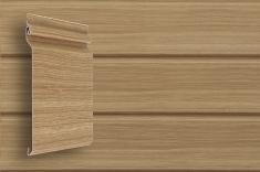 Виниловый сайдинг Grand Line Tundra. Дизайн-коллекция Natural-брус (Клен), 3,0м
