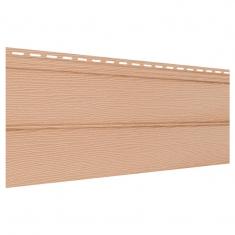 Виниловый сайдинг Ю-Пласт Классический Блок-Хаус (Бежевый), 3,4м