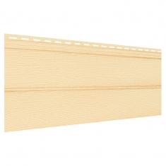 Виниловый сайдинг Ю-Пласт Классический Блок-Хаус (Кремовый), 3,4м