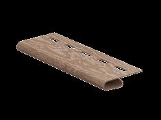 Завершающая планка Ю-Пласт Тимберблок Кедр (Натуральный), 3м