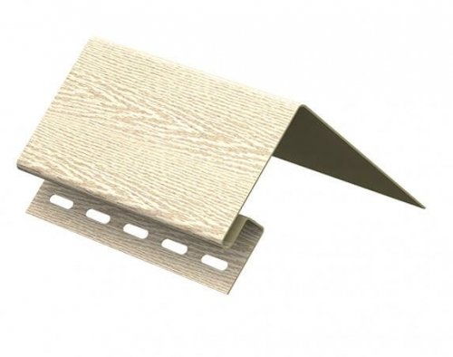 Околооконная планка Ю-Пласт Тимберблок Ясень (Золотистый), 3м