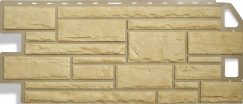 Фасадная панель Альта-Профиль Камень (Жёлтый)